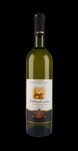 Veltlínské zelené bílé víno suché 0,75 l, Premium