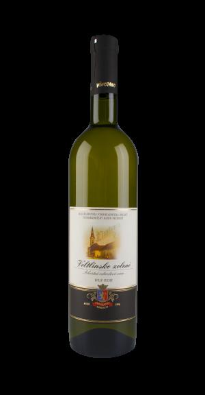 Veltlínské zelené bílé víno suché 1 l