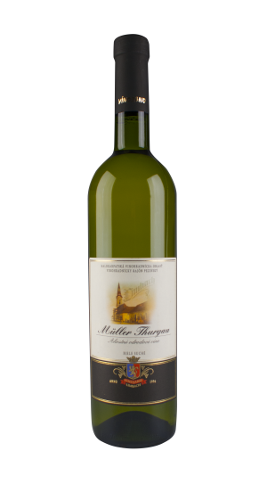Muller Thurgau bílé víno suché 1 l