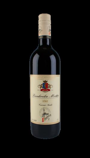 Frankovka červené víno suché 1 l