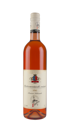 Svatovavřinecké růžové víno suché 0,75 l, Premium