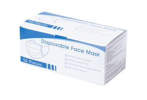 3-vrstvá jednorázová obličejová maska Nagax