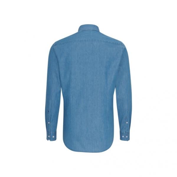 Košile Slim Fit 1/1 Denim Business Kent
