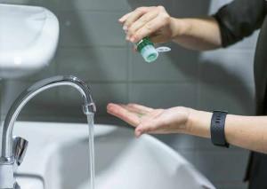 Mýdlo na ruce v plastové lahvi, 50ml