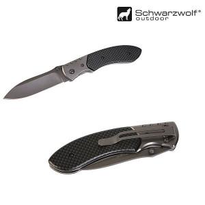 Zavírací nůž s pojistkou SCHWARZWOLF YERGER