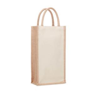 Dárková taška z juty  CAMPO DI VINO DUO