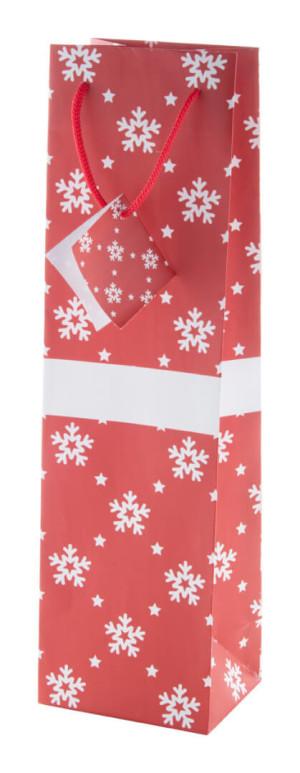 Vánoční taška, na láhev Palokorpi W