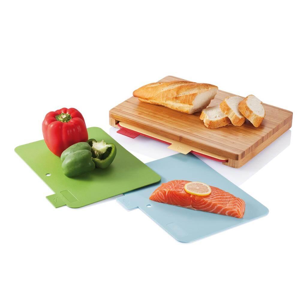 Cutting board  Kuchyňské prkénko se 4ks hygienických podložek