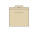 Reklamnepredmety OBAL Obal 550x460mm, prírodná