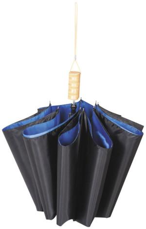 """Dvoudílný automatický deštník Blue 21"""""""