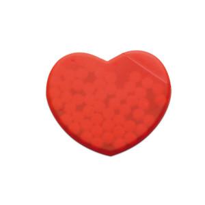 Bonbóny v krabičce ve tvaru srdce CORAMINT