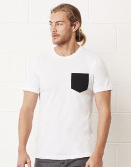 obrazok Pánské tričko jersey s kapsou - Reklamnepredmety