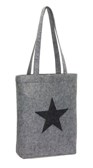 """Nákupní taška z plsteného materiálu""""Star Dust"""""""