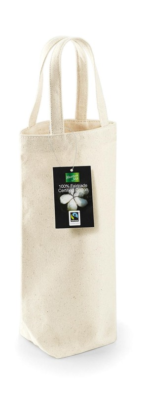 obrazok Fairtrade Cotton Bottle Bag - Reklamnepredmety