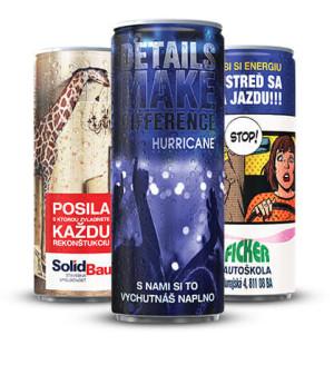 obrazok Energetický nápoj plechovka - Reklamnepredmety
