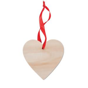 WOOHEART dřevěná ozdoba