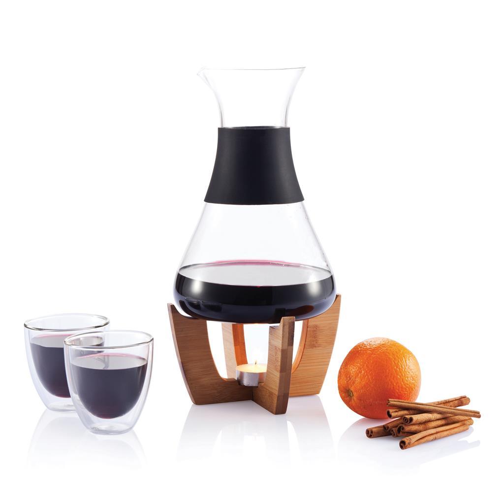 Glu mulled wine set with glasses sada  na svařené víno se sklenicemi