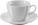 Reklamnepredmety Porcelánová šálka s podšálkou, 250 ml, biela 48ks