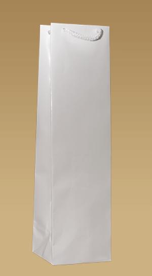 Ekologické papírové tašky na víno laminované