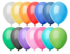 CreaBalloon balonky v pastelových barvách