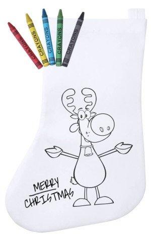 Plicom vánoční punčocha na vybarvení