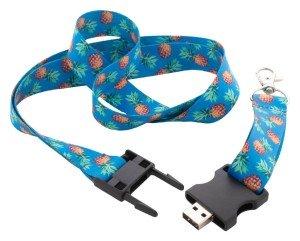 Subyard USB lanyard s 8 GB USB flash diskem