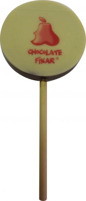Lízátko s jedlou potiskem - kruh