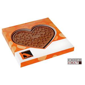Čokoládové srdce