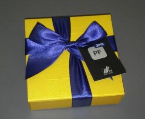 Pralinky ve zlaté krabičce, 9 kusů