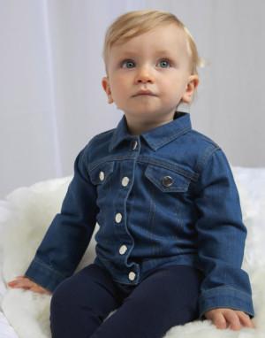 Džínová bunda pro miminka Baby Rocks