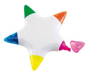 Star- zvýrazňovače ve tvaru hvězdy