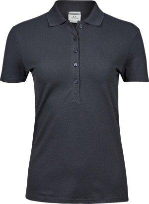 Dámské luxusní elastické polo tričko