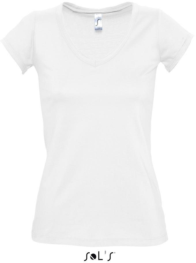 """Mild Dámské tričko s výstřihem do """"v"""""""