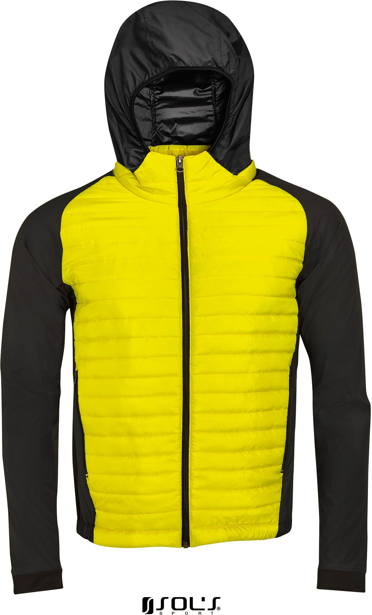 Pánská běžecká péřová bunda