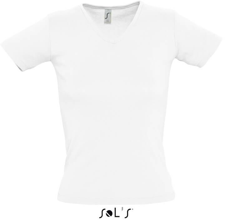 """Lady V Dámské tričko s výstřihem do """"v"""""""