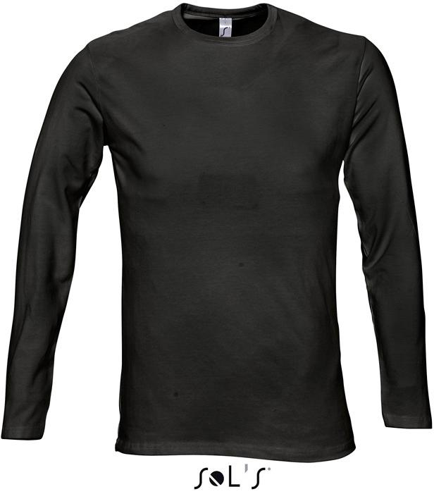 Century  Pánské elastické tričko, dlouhý rukáv