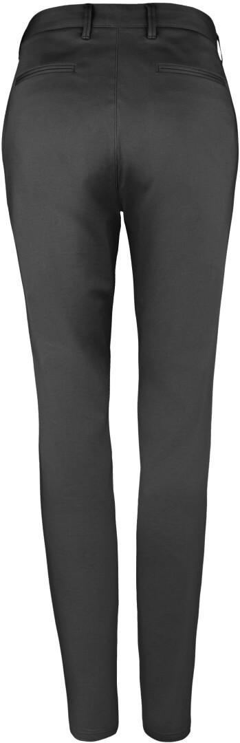 Dámské saténové stretch kalhoty