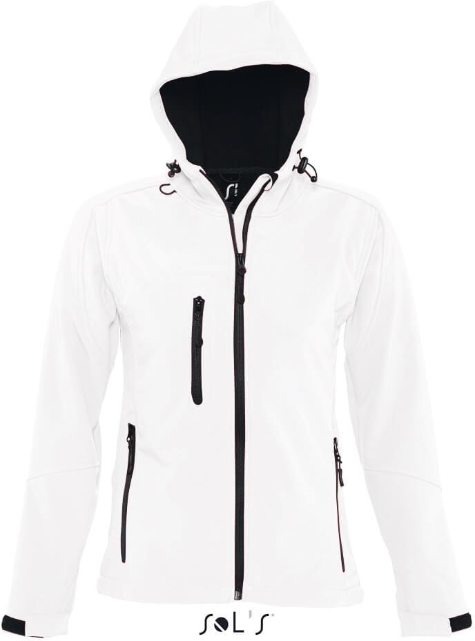 Replay Women Dámská 3-vrstvá softshellová bunda s kapucí