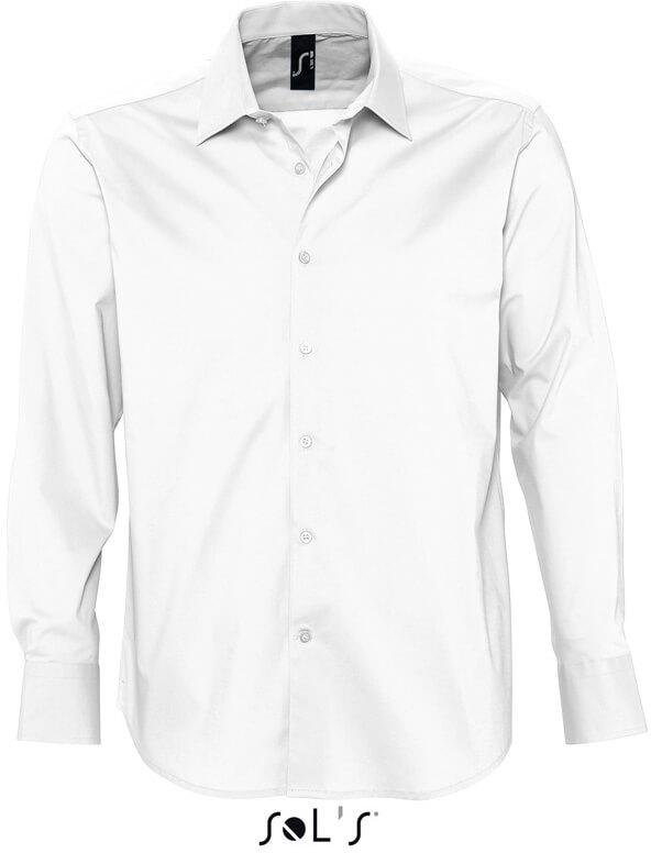 Brighton Pánská elastická košile s dlouhým rukávem