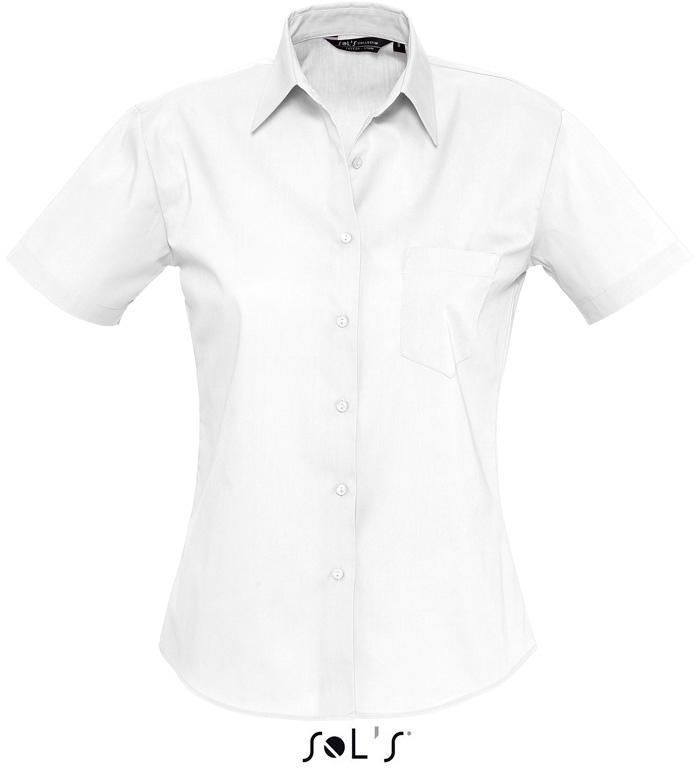Energy Dámská popelínová košile s krátkým rukávem