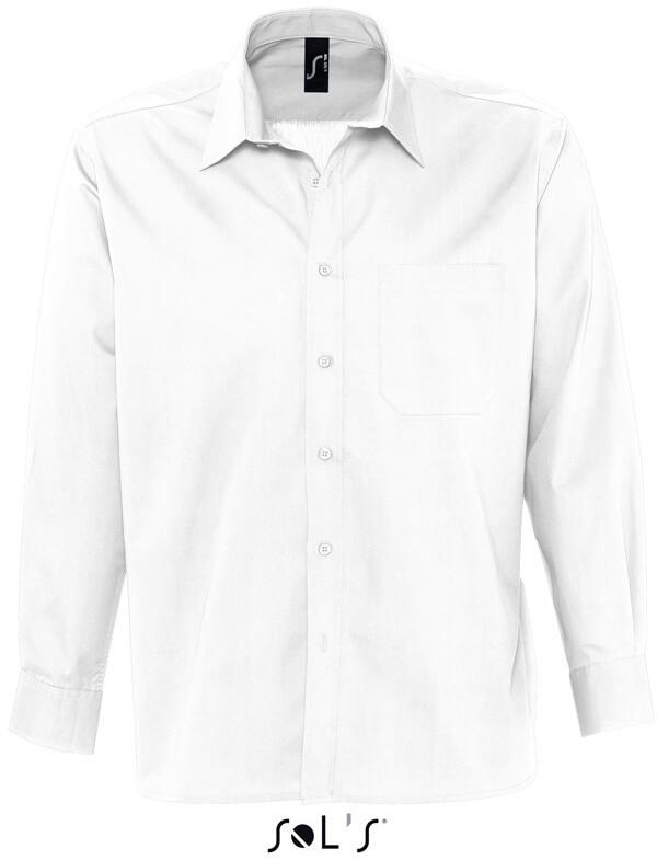 Bradford Pánská popelínová košile s dlouhým rukávem