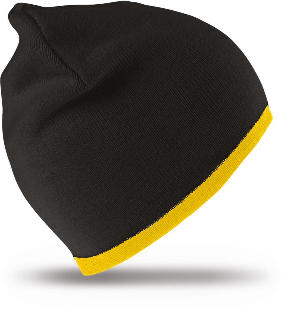 Oboustranná módní pletená čepice