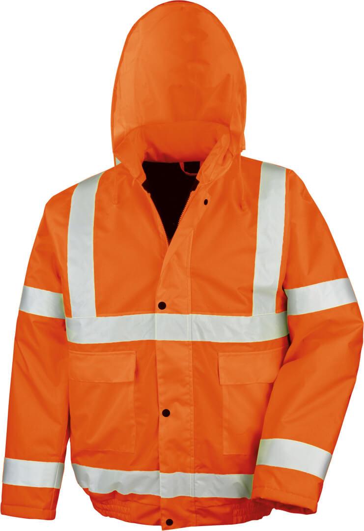 Reflexní zimní bunda
