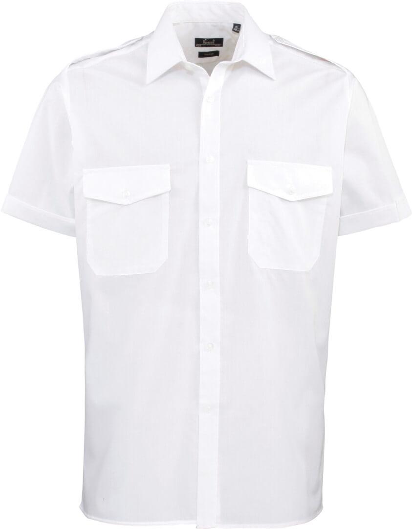 Pilotní košile s krátkým rukávem