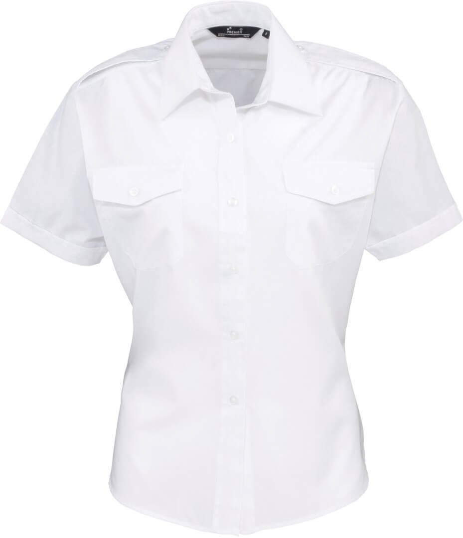 Dámská pilotní košile s krátkým rukávem