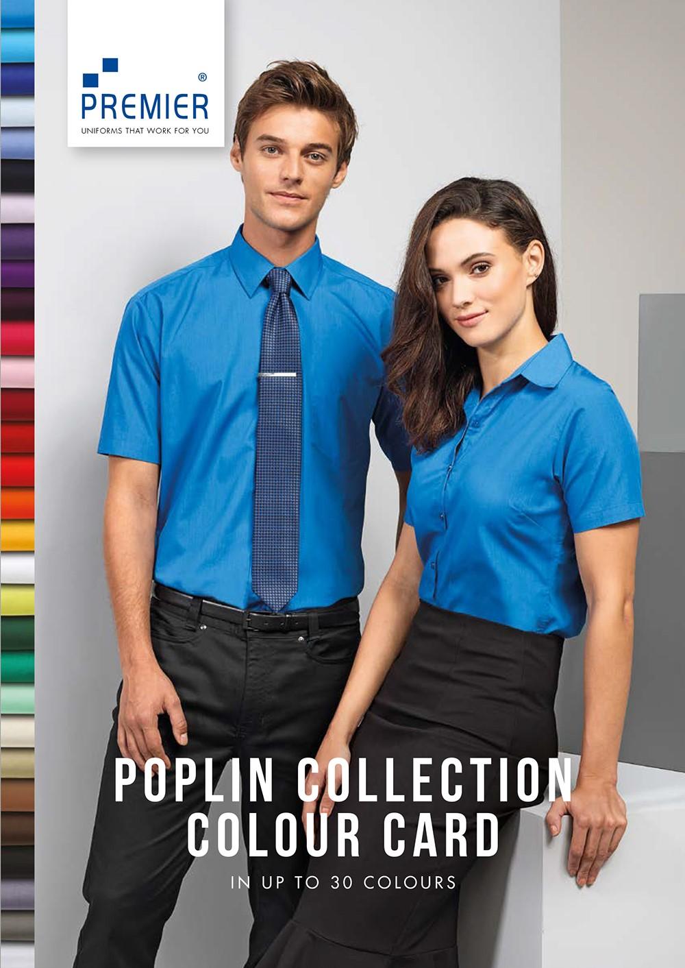 Barevnice popelínové košile