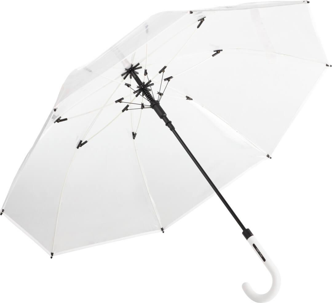 Transparentní automatický deštník