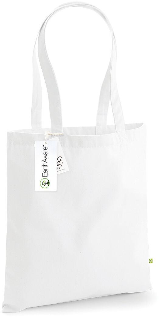 W801 EarthAware™ přírodní bavlněná taška