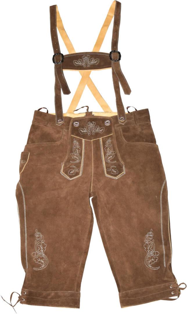 Pánské kožené kalhoty, dlouhé