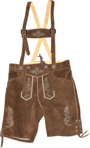 Pánské kožené kalhoty, krátké